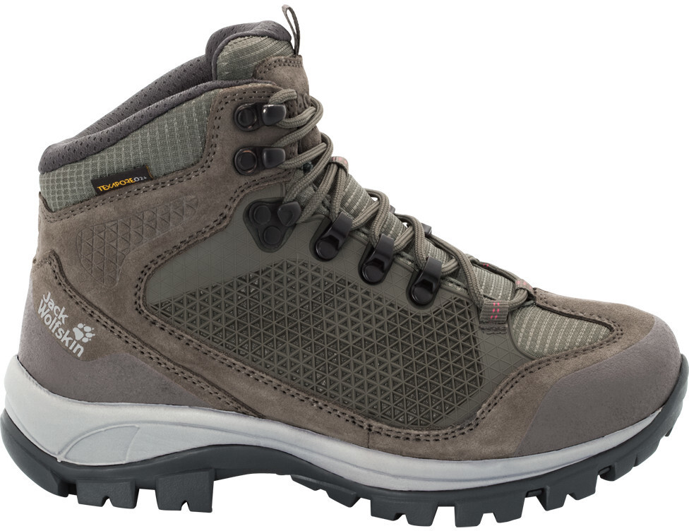 jack wolfskin all terrain pro texapore mid shoes women. Black Bedroom Furniture Sets. Home Design Ideas